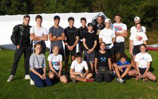 Team und Trainer nach der Krefelder Regatta